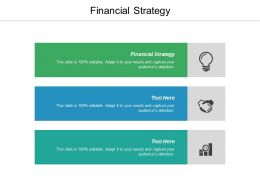 Financial Strategy Ppt Powerpoint Presentation Gallery Designs Download Cpb