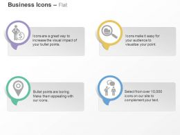Financial Strategy Search Navigation Business Communication Ppt Icons Graphics