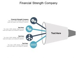 Financial Strength Company Ppt Powerpoint Presentation Styles Design Inspiration Cpb