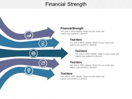 Financial Strength Ppt Powerpoint Presentation Show Layout Cpb