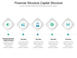 Financial Structure Capital Structure Ppt Powerpoint Presentation Slides Introduction Cpb