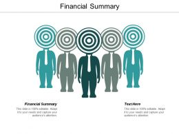 Financial Summary Ppt Powerpoint Presentation Icon Background Images Cpb