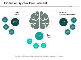 Financial System Procurement Ppt Powerpoint Presentation Gallery Layout Ideas Cpb