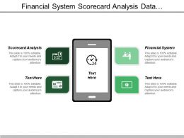 Financial System Scorecard Analysis Data Exploration Reporting Tools