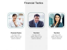 Financial Tactics Ppt Powerpoint Presentation Infographics Grid Cpb