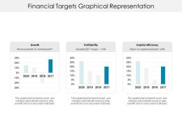 Financial Targets Graphical Representation