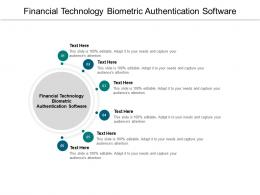 Financial Technology Biometric Authentication Software Ppt Powerpoint Presentation Inspiration Cpb
