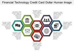 Financial Technology Credit Card Dollar Human Image
