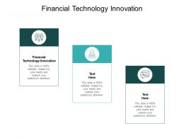 Financial Technology Innovation Ppt Powerpoint Presentation Model Example Cpb