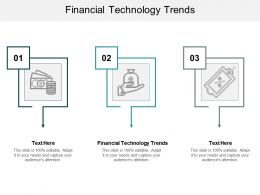 Financial Technology Trends Ppt Powerpoint Presentation Outline Model Cpb
