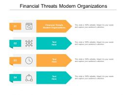 Financial Threats Modern Organizations Ppt Powerpoint Presentation Infographics Outline Cpb