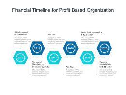 Financial Timeline For Profit Based Organization