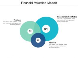 Financial Valuation Models Ppt Powerpoint Presentation File Shapes Cpb