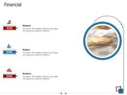 Financial Warehousing Logistics Ppt Brochure