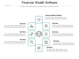 Financial Wealth Software Ppt Powerpoint Presentation Inspiration Slides Cpb