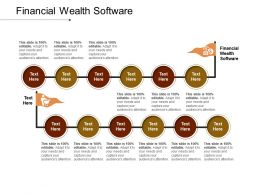 Financial Wealth Software Ppt Powerpoint Presentation Outline Example Topics Cpb