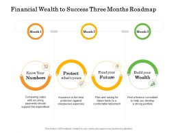Financial Wealth To Success Three Months Roadmap