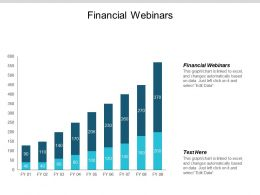 Financial Webinars Ppt Powerpoint Presentation Summary Clipart Cpb