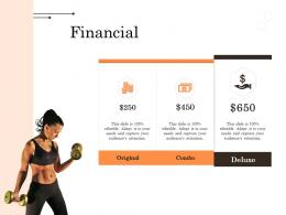 Financial Wellness Industry Overview Ppt Styles Designs