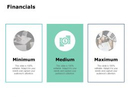 Financials Ppt Powerpoint Presentation Model Background Image