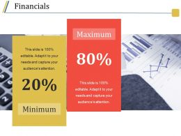 Financials Ppt Sample Template 2