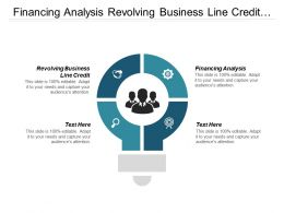 Financing Analysis Revolving Business Line Credit Business Funding Cpb