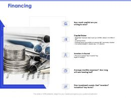 Financing Average Expenses Ppt Powerpoint Presentation Outline Show