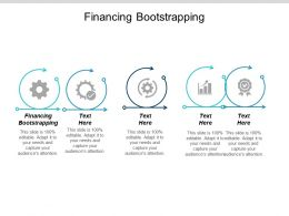Financing Bootstrapping Ppt Powerpoint Presentation Summary Designs Cpb