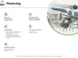 Financing Capital Raise Ppt Powerpoint Presentation Summary Slide Download