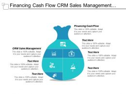 Financing Cash Flow Crm Sales Management Virtual Assistant Cpb