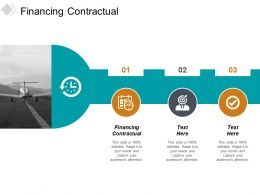 Financing Contractual Ppt Powerpoint Presentation Slides Mockup Cpb