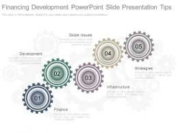 Financing Development Powerpoint Slide Presentation Tips