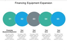 Financing Equipment Expansion Ppt Powerpoint Presentation Ideas Backgrounds Cpb