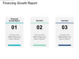 Financing Growth Report Ppt Powerpoint Presentation Layouts Sample Cpb