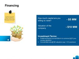 Financing Investment L1375 Ppt Powerpoint Presentation Show Format Ideas