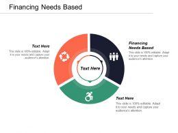 Financing Needs Based Ppt Powerpoint Presentation Inspiration Portfolio Cpb