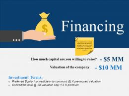 Financing Ppt Background Graphics