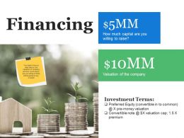 Financing Ppt Deck