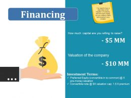 Financing Ppt Infographics Example