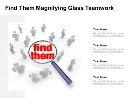 Find Them Magnifying Glass Teamwork