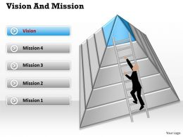 Find Your Vision And Mission Diagram 0214