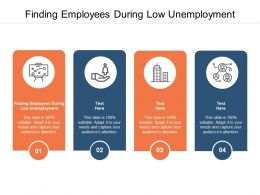 Finding Employees During Low Unemployment Ppt Powerpoint File Cpb
