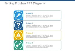 Finding Problem Ppt Diagrams