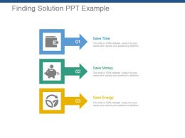 Finding Solution Ppt Example