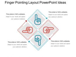 Finger Pointing Layout Powerpoint Ideas