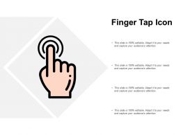 Finger Tap Icon