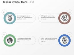 Fingerprint Scan Fingerprint Scanner Scan Error Ppt Icons Graphics