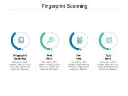 Fingerprint Scanning Ppt Powerpoint Presentation Model Themes Cpb