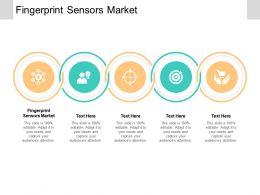 Fingerprint Sensors Market Ppt Powerpoint Presentation Layouts Topics Cpb