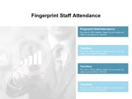 Fingerprint Staff Attendance Ppt Powerpoint Presentation Gallery Files Cpb